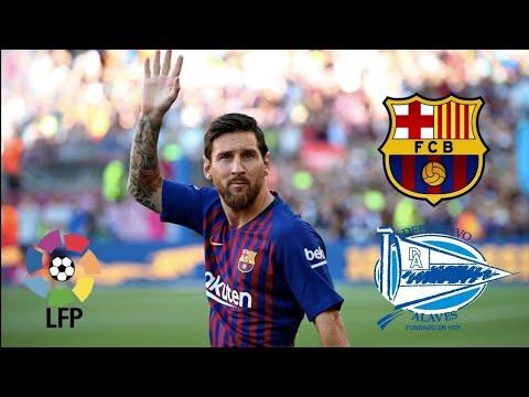 Fc Barcelona Vs Alaves Full Match Youtube