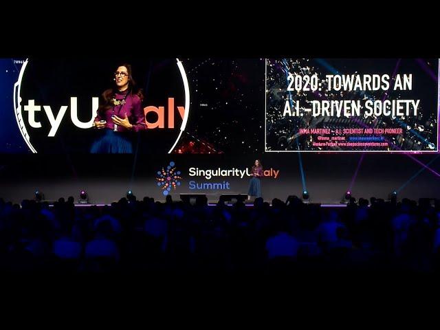 Singularity 2019 - Inma Martinez