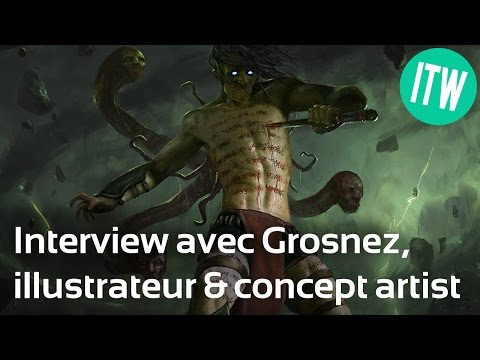 Interview de Grosnez, illustrateur et concept artist freelance