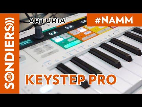 [NAMM2020] ARTURIA KEYSTEP PRO