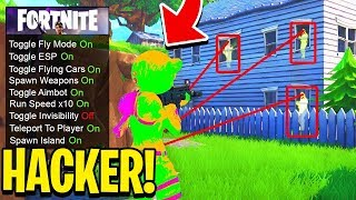 "5 ""INCREDIBILI"" THINGS that DO THE HACKER on FORTNITE! 😱"
