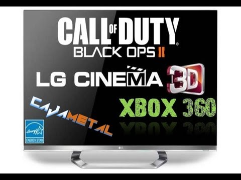 COD Black Ops 2 Tutorial Para Jugar En 3D [XBOX 360]