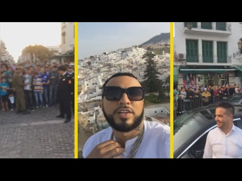"""French Montana """"Goes To Morocco & Surprises Fans"""""""