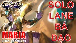 Phong cách chơi MARJA đi lane vô cùng mạnh mà nhiều bạn chưa biết! Arena of valor Marja