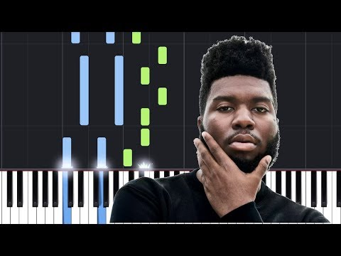 Khalid - Vertigo (Piano Tutorial / Piano Lesson)