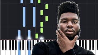 Khalid - Vertigo (Piano Tutorial / Piano Lesson)