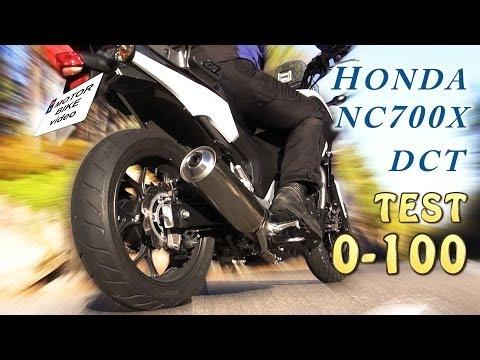 Honda nc700x, Acceleration test 0-100 kmph, DCT vs Clutch