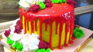 Торт рецепт бисквита chocolate sponge cake оформление Ретро/Торта