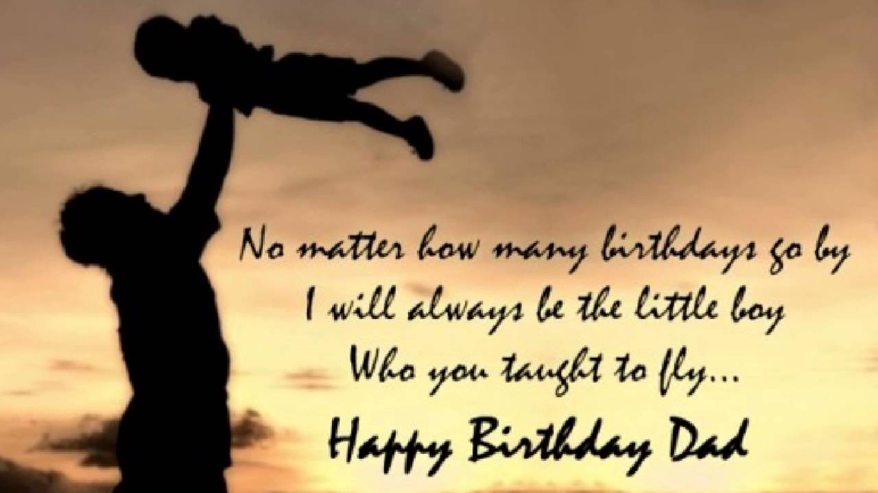 40 Happy Birthday Dad Quotes And Wishes