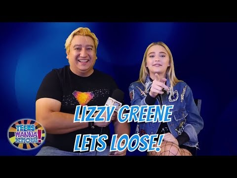 Lizzy Greene LETS LOOSE! on NRDD, Cyberbullying, Tiny Christmas and Try Not to Laugh Challenge