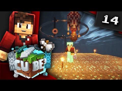 Minecraft: CUBE³ SMP! Ep. 14 - DIAMOND SHOWER!