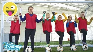 The FA   Girls' Football Week! Football + Friends = FUN! ⚽️  Official Disney Channel UK