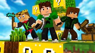 SKYWARS DE LUCKYBLOCK! - Minecraft