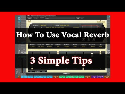 How To Use Vocal Reverb - 3 Simple Tips | Theo Nt | theont.com