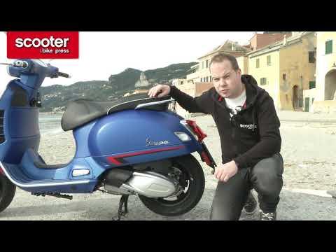 Introductie: Vespa GTS  hpe