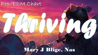 Mary J Blige -  Thriving(Lyrics) ft. Nas