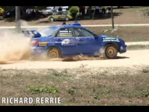 EPIC DRIFT-- SUBARU IMPREZA WRX STI RALLY CAR JAMAICA : RICHARD RERRIE