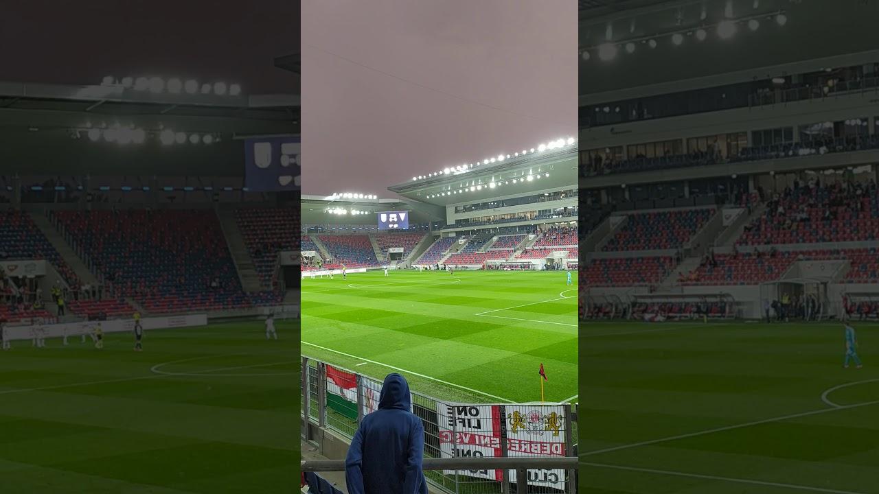 MOL Fehérvár FC-DVSC 1-0 Piros-fehér, e két színért élek ...