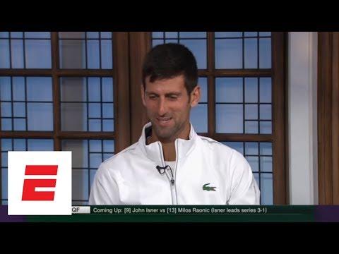 Novak Djokovic: 'Shocked' Roger Federer lost to Kevin Anderson | ESPN