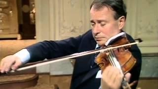 Henryk Szeryng plays Fritz Kreisler - Recitativo und Scherzo-Caprice