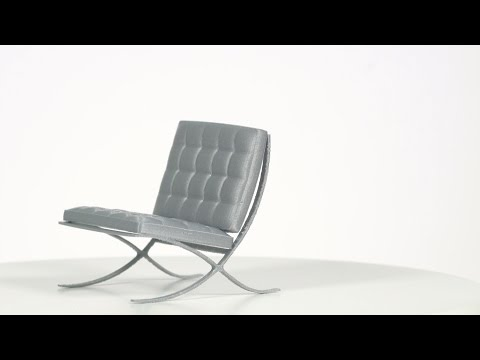 Barcelona chair by Fabian Pauli - Ultimaker: 3D Printing Timelapse