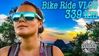 340kms training bike ride VLOG, food, day after