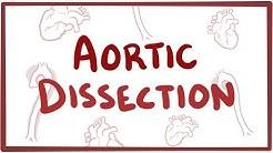 Aortic Dissection - causes, symptoms, diagnosis, treatment, pathology
