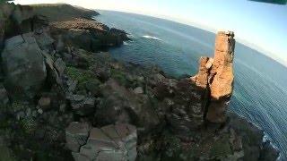 Parrot Bebop Drone + Cheerson cx 20 - Calasapone - S. Antioco-tonnara camp.