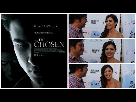 with Angelica Chitwood for The Chosen