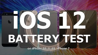 iOS 12 Final. Battery Life Test : Has it improved over iOS 11.4.1?