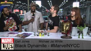 Carl Jones and Michael Jai White Talk Their New Animated Show and More at NYCC 2014