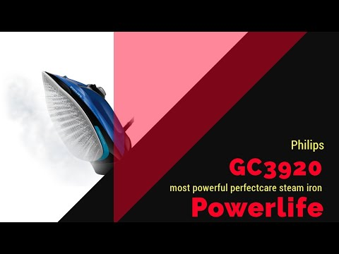 Philips GC3920 Powerlife steam iron