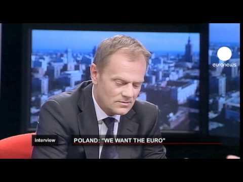 """euronews interview - Polen: """"wir wollen den Euro"""""""