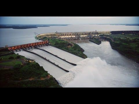 Cena rara: veja a abertura das 14 comportas da Usina de  Itaipu