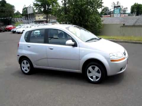 2008 Chevrolet Aveo Aveo5 LS Hatchback Sedan 4D # 10001.mpg   YouTube