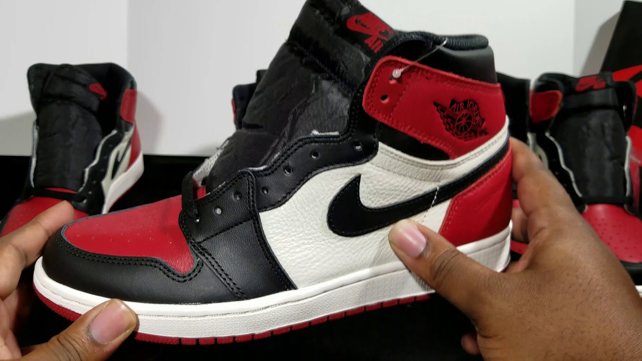on feet shots of closer at discount shop Air Jordan Retro 1 OG High