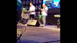 Dalida Khalil & Ziad Bourji Singing In Aul-University