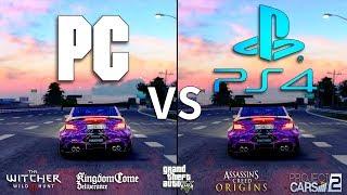 PC vs PS4 Graphics Comparison