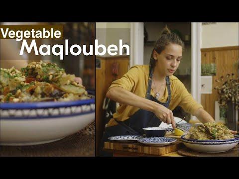 Palestinian Vegetarian Maqloubeh | Sahtein!