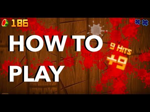 how to deflect 5 bombs in fruit ninja