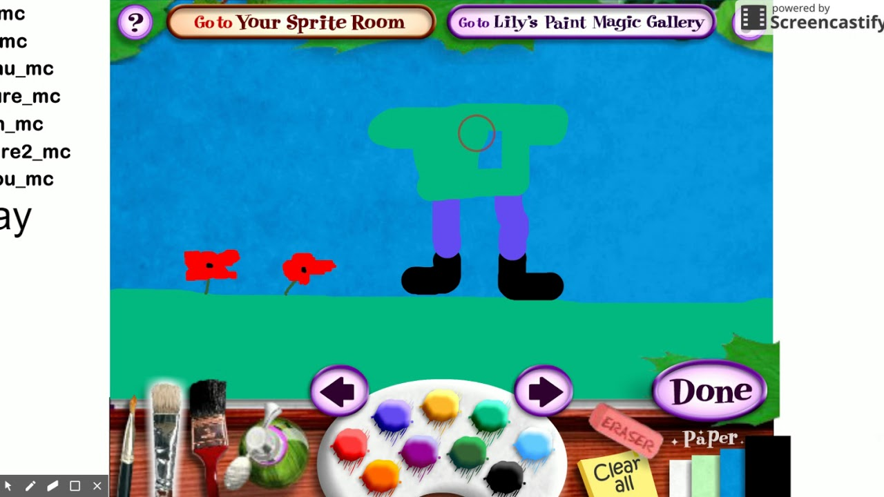 Lily\'s Paint Magic: Welcome to Flanders Fields PT 1 - YouTube