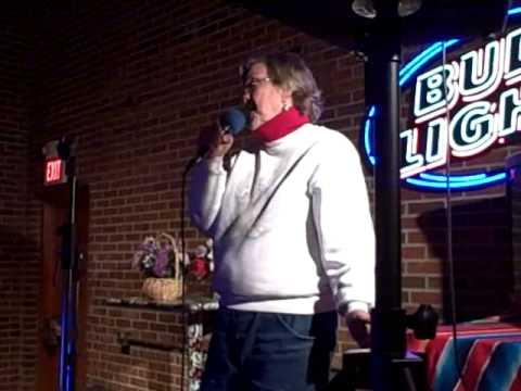Jean Maurie singing @ Karaoke