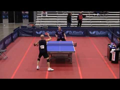 Open Hardbat Final - 2011 US National Table Tennis Championships