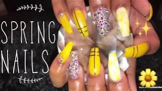 Acrylic Nails Tutorial | Fill | Spring Nails