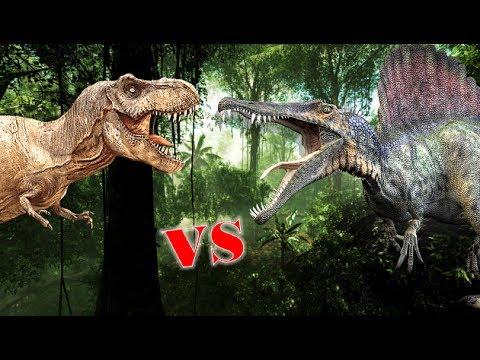 Tyrannosaurus Rex Vs Spinosaurus Who Would Win?