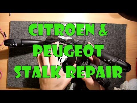 Teardown Lab – Citroen Peugeot Stalk Repair