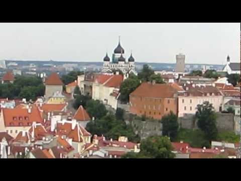 Views from the Oleviste Church Tower in Tallinn