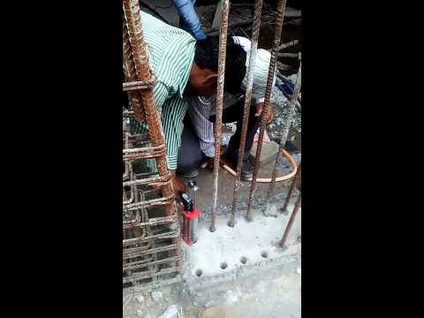 Grouting of column