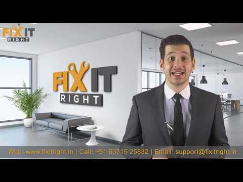 Fix It Right Company Promo Video