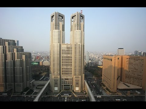 AMAZING VIEW: Tokyo Metropolitan Government Building